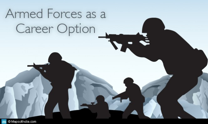 armed forces as career option